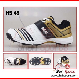 HS 45 Spike Cricket Shoes