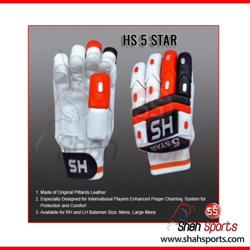 HS 5 STAR Batting Gloves