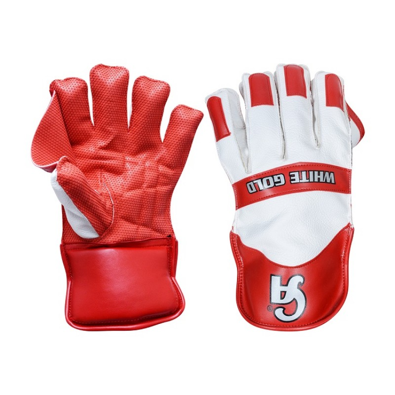 WHITE GOLD KEEPING GLOVES
