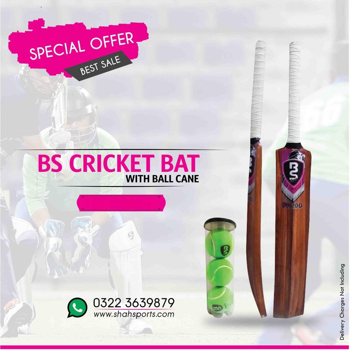 Tennis Ball Bat Wooden Handle Size ADULTS CA King Cricket Bat Tape Ball